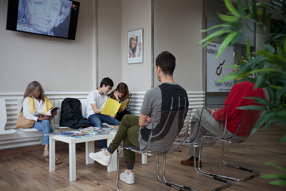 Sala de espera - Clínica Dental- Rehberger - López-Fanjul