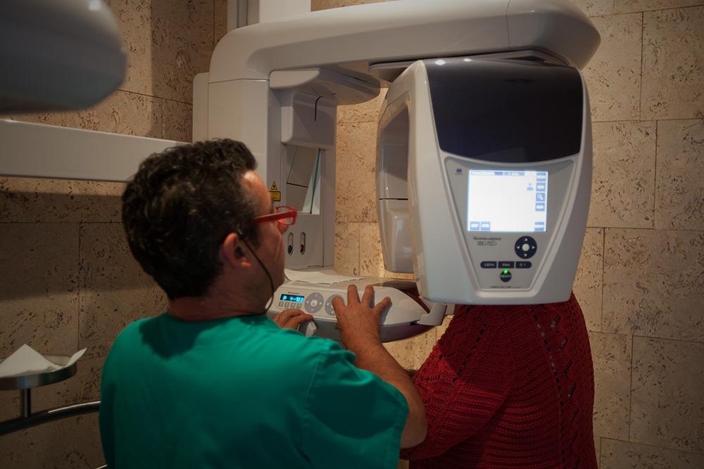 Escáner Rayos X - Clínica Dental- Rehberger - López-Fanjul