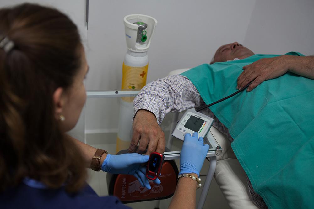 Sala de reanimación - Clínica Dental- Rehberger - López-Fanjul