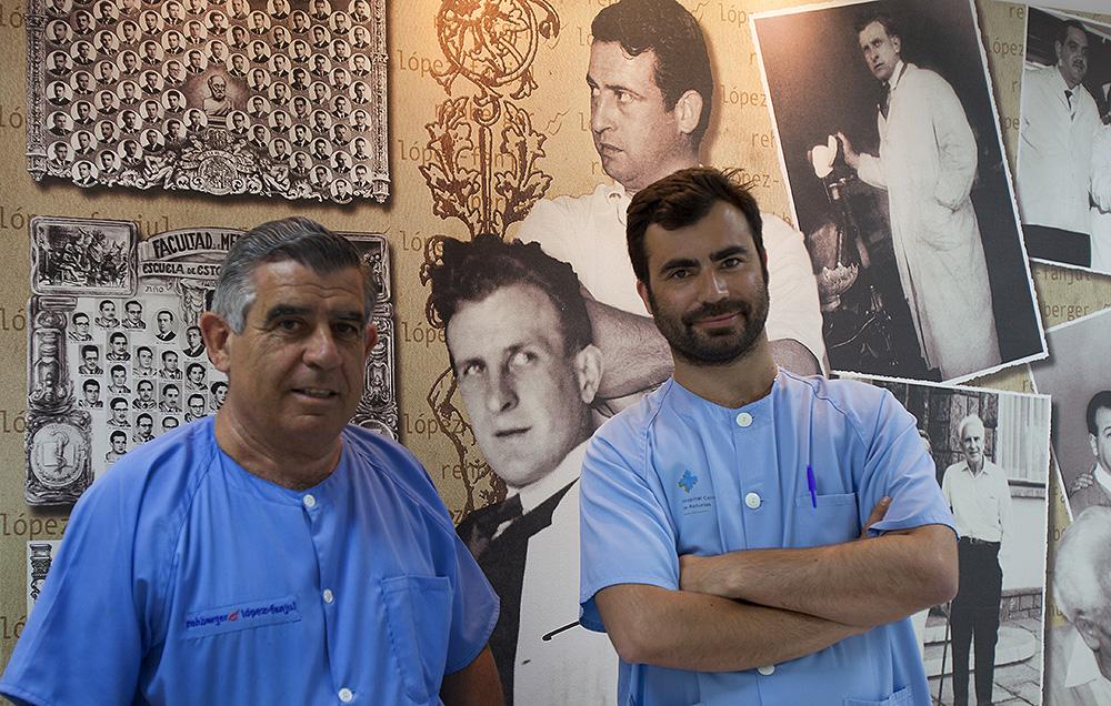 Guillermo Rehberger Olivera y Federico Rehberger Bescós - Clínica Dental- Rehberger - López-Fanjul