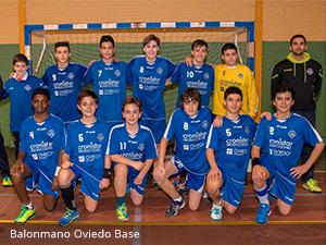 Balonmano Oviedo Base - Clínica Dental Rehberger - López-Fanjul