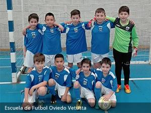 Escuela de Futbol Oviedo Vetusta - Clínica Dental Rehberger - López-Fanjul