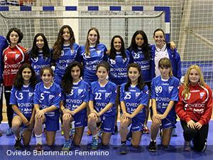 Oviedo Balonmano Femenino - Clínica Dental Rehberger - López-Fanjul