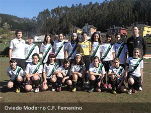 Oviedo Moderno C.F. Femenino - Clínica Dental Rehberger - López-Fanjul