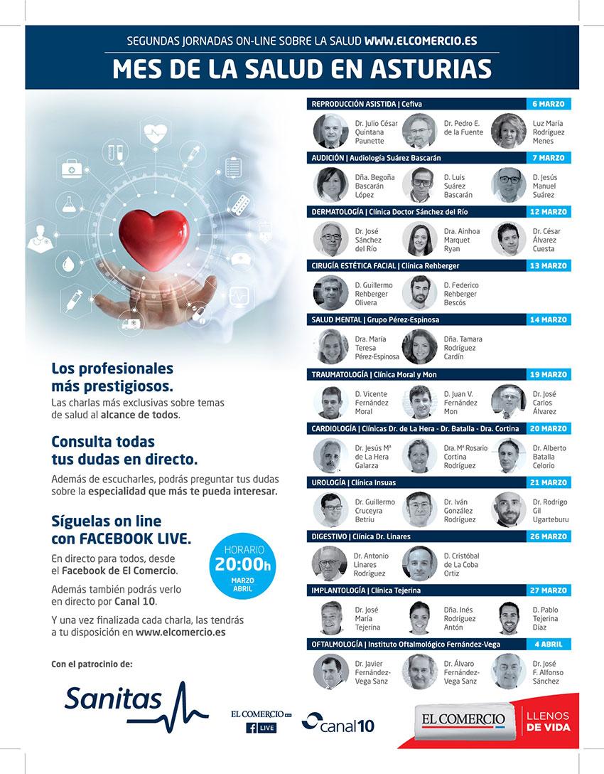 Cirugía Estética Facial Mes De La Salud - el Comercio - Clínica Rehberger López-Fanjul Oviedo