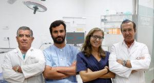 Foto de 4 dentistas