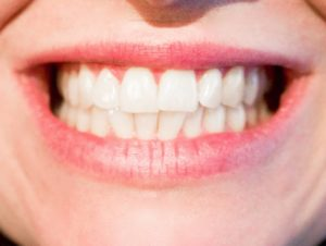Foto de una boca femenina