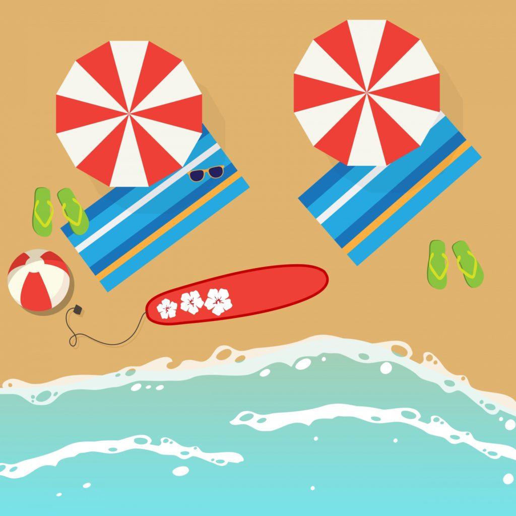 Dibujo de Playa